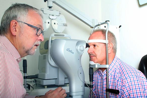 Augenprüfung